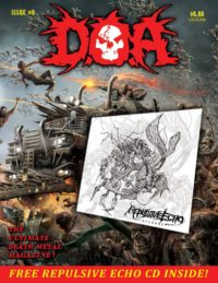 DOA Issue # 8 Magazine 7.00 free CD